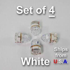 SET OF 4 DIAMOND LED fishing lights, WHITE, deep drop, swordfish, FREE SHIP, USA