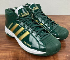 Adidas FW3664 Pro Model 2G SVSM Green Basketball Shoes Men's Size 10.5 Lebron DS