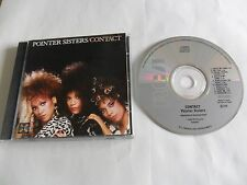 POINTER SISTERS - Contact (CD 1985) JAPAN Pressing