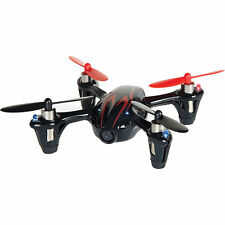 Hubsan X4 H107C 2.4G 4CH RC Quadcopter With Camera RTF - Black/Red UK Stock