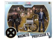 Hasbro Marvel Legends Series X-Men Magneto and Professor X Action Figures 2 Pack