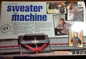 Vintage Bond Incredible Sweater Machine Pre-owned**Read Description**