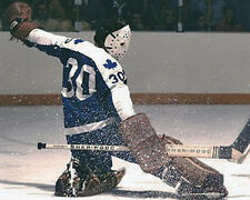 BERNIE PARENT TORONTO MAPLE LEAFS VINTAGE GOALIE MASK NHL HOCKEY 8X10 PHOTO