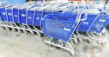 SEARS Grocery/Shopping Carts with Basket Steel/Metal Blue EXCELLENT CONDITION