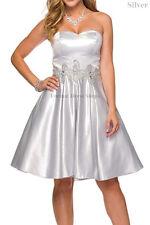 SHORT BRIDESMAIDS DRESS SEMI FORMAL PROM DANCE HOMECOMING SWEET 16 CORSET BACK