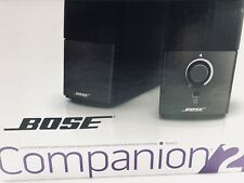 Bose Companion 2 Series III Computer Speakers $91.99