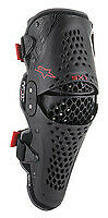 ALPINESTARS SX-1 V2 KNEE PROTECTOR BLACK/RED 2X MOTORCYCLE