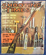 Vintage Magazine SHOOTING TIMES, September 1967 !BUILD YOUR OWN KENTUCKY RIFLE!