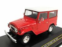 FIRST:43 1/43 Toyota LAND CRUISER FJ40 1973 Red F43-145 w/ Tracking NEW