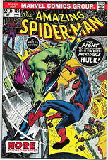 Amazing Spider-Man #120 Marvel 1973 Stan Lee / Gil Kane. Hulk app. VFNM