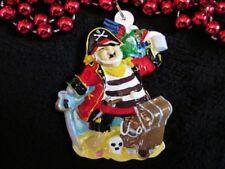 """Drinking Pirate"" Mardi Gras Necklace Gasparilla Treasure Parrot Hook (B737)"