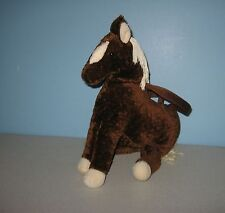 "12"" Brown Pony Stuffed Girls Plush Mini Purse by North American Bear Company"