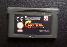 Nintendo Game Boy Advance Contra Avance  Alien Wars EX