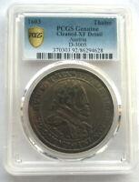 Austria 1603 Emperor Rudolph II Thaler PCGS Silver Coin,Rare
