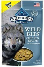 New listing Blue Buffalo Wilderness Trail Dog Treats Wild Bits High Training Chicken 10-oz
