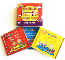 Children's Favourites Travel Songs Pack 3CDs of kids songs rhymes & stories NEW
