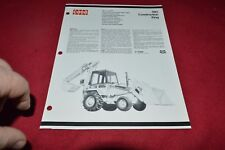Case Tractor 780 Construction King Backhoe Dealer's Brochure RPMD