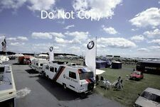 Brabham BMW F1 Team Hospitality Motorhome British Grand Prix 1985 Photograph