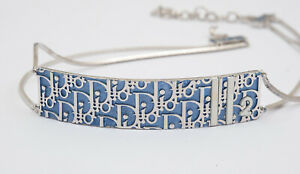 Vintage Authentic Signed Christian Dior  Jewellery Choker Trotter 2 Collection