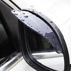 2× Car Rear View Side Mirror Rain Board Eyebrow Guard Sun Visor Auto Parts Black Alfa Romeo 147