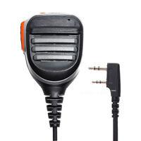High Quality 2Pin Speaker Hand Microphone BaoFeng UV-5R 8W Kenwood Walkie Talkie