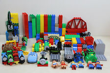 Lot 267 Pc Lego Duplo + Mega Bloks Thomas & Friends Train Building Toy Lot