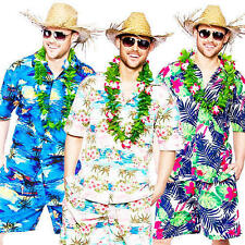 Polyester Complete Outfit Hawaiian Fancy Dresses for Men
