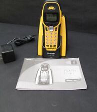 Uniden WX1477 5.8 GHz Sumergible Teléfono Inalámbrico Con Base Estación de carga.