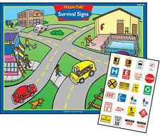 Survival Signs Magnetic Game Super Duper Safety Help Social Skills Autism Toy