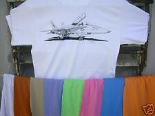 Airplane T Shirt McDonnell Douglas F-18 M