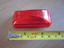 Lot of 6  1 x 2.5 Inch Red Tail Clearance Light Camper Trailer RV NOS
