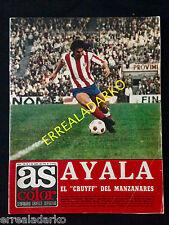 REVISTA AS COLOR 150 HOLANDA CRUYFF-REAL MADRID-ATLETICO MADRID-GRANADA-VALENCIA