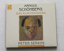 Peter SERKIN / Arnold SCHONBERG Piano works - Digipack CD ARCANA A 315 (2004)