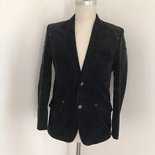 No Excess Men's Coat Corduroy Zip Front 2bttn M