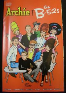 ARCHIE MEETS THE B-52S 1 A MUSIC COMIC SEGURA ROSENBERG PARENT BONE 2020 NM