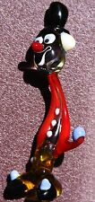 "5""-6"" Murano Style Art Craft Color Glass Figurines ""Clown"" C5"