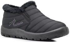 NIB Women Light Weight Winter Nylon Snow Walking Comfortable Ankle Boots Slip On