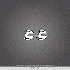 07019 Cannondale Head Badge Bicicletta Adesivi-Decalcomanie-Transfers