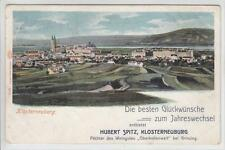 AK Klosterneuburg, Neuesjahrwünsche Weingut, 1900