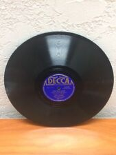 """Bing Crosby – The One Rose / Sentimental And Melancholy 10"""" Shellac 78 RPM"""