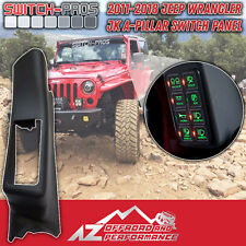 ▪Switch-Pros▪ A-Pillar Switch Panel for 2011-2018 Jeep Wrangler  |FAST SHIPPING|