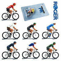 Cycling Model Die Cast Metal Cyclist Figure Tour De France Professional Teams