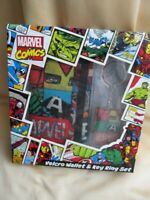Marvel Comics Wallet And Keyring Set Official Product New Sealed Gift