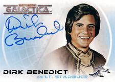 The Complete Battlestar Galactica Autograph A2 Dirk Benedict as Lt. Starbuck