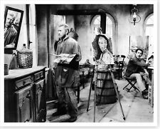 Actor Kirk Douglas With Anthony Quinn Lust For Life Silver Halide Photo