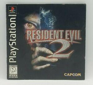 Resident Evil 2 (Sony PlayStation,1998) PS1 INSTRUCTION BOOKLET w/ REGISTRATION!