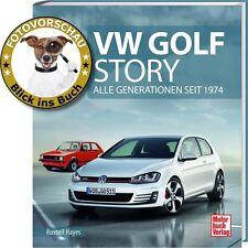 Bildband VW Golf Story - Alle Generationen seit 1974 (Golf I II III IV V VI VII