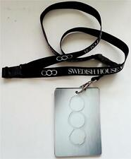 SWEDISH HOUSE MAFIA One Last Tour LANYARD Official Guide I Came I Raved I Loved