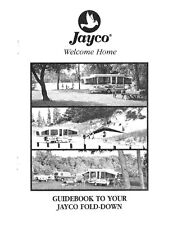 1995 Jayco Cardinal Eagle King  Popup Trailer Owners Manual