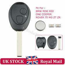 For BMW MINI ONE COOPER ROVER 75 R50 ZT ZR 2 BUTTON REMOTE KEY FOB CASE REPAIR
